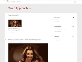 teamapproach.ca screenshot