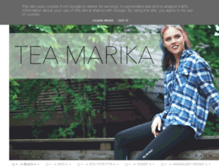 teamarika.blogspot.fi screenshot