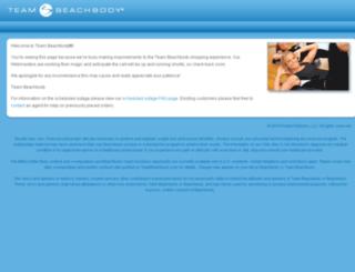 teambeachbody.com screenshot