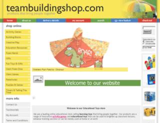 teambuildingshop.com screenshot