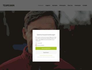 teamcanin.com screenshot