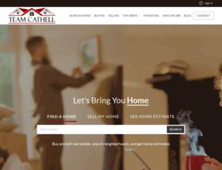 teamcathell.com screenshot