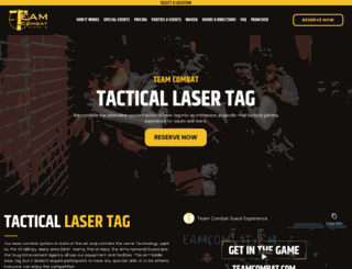 teamcombat.com screenshot