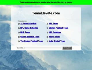teamelevate.com screenshot
