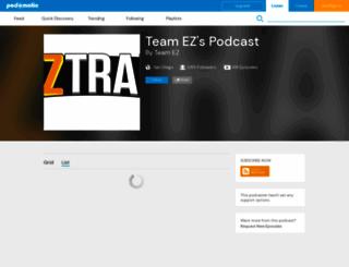 teamez.podomatic.com screenshot