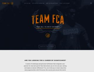 teamfca.com screenshot
