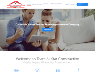 teamheroconstruction.com screenshot
