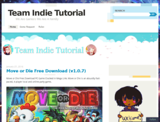 teamindietutorial.wordpress.com screenshot