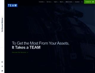 teamindustrialservices.com screenshot