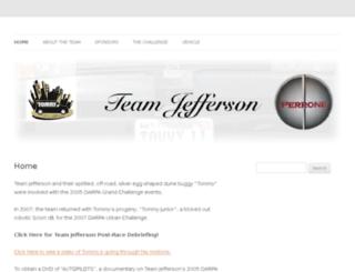 teamjefferson.com screenshot