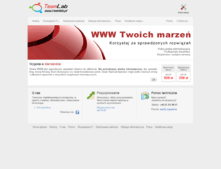 teamlab.pl screenshot