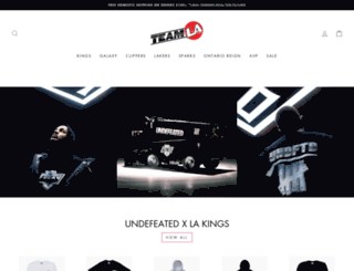 teamlastore.com screenshot
