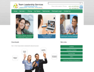 teamleadershipservices.com screenshot