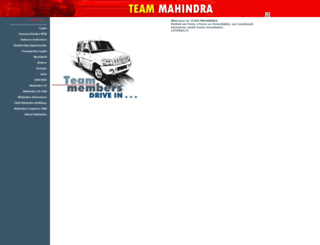 teammahindra.com screenshot
