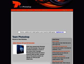 teamphotoshop.com screenshot