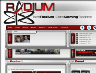 teamradium.com screenshot