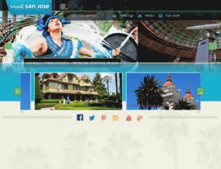 teamsanjose.com screenshot