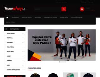 teamshop.fr screenshot