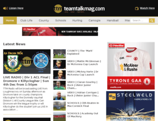 teamtalkmag.com screenshot