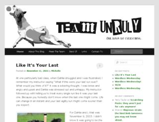 teamunruly.com screenshot