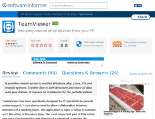 teamviewer.software.informer.com screenshot