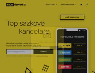 teanet-cn.cz screenshot