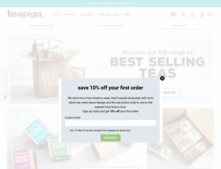 teapigs.com screenshot