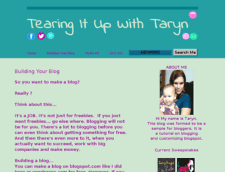 tearingitupwithtaryn.blogspot.com screenshot