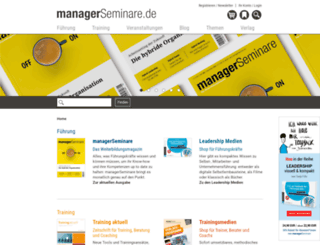 teaser.managerseminare.de screenshot