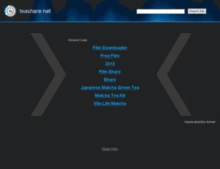 teashare.net screenshot