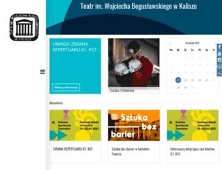 teatr.kalisz.pl screenshot