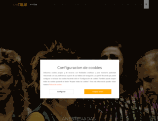 teatretalia.es screenshot