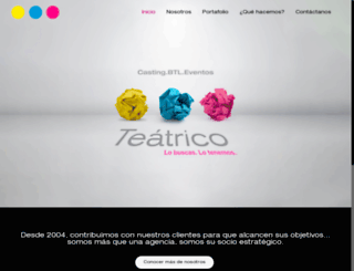 teatriconetwork.com screenshot