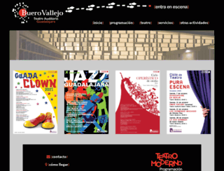 teatrobuerovallejo.com screenshot