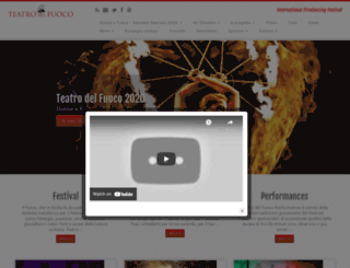 teatrodelfuoco.com screenshot