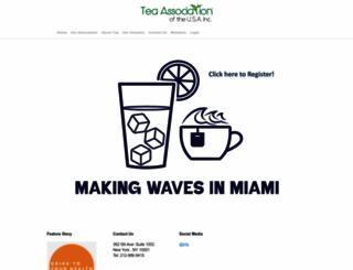 teausa.com screenshot
