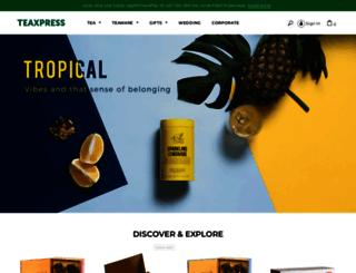 teaxpress.com screenshot