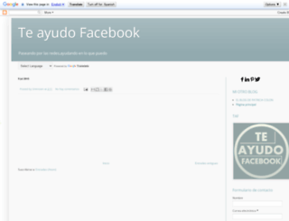 teayudofacebook.blogspot.com screenshot