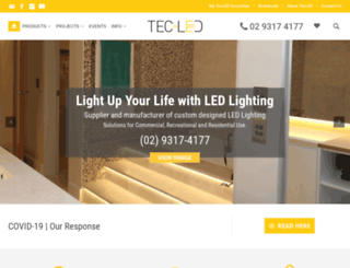 tec-ledlighting.com.au screenshot