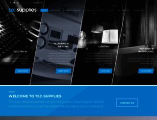 tec-supplies.com screenshot