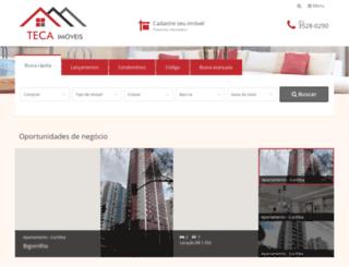 tecaimoveis.com.br screenshot