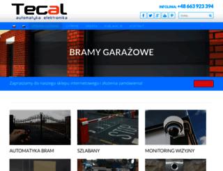 tecal.pl screenshot