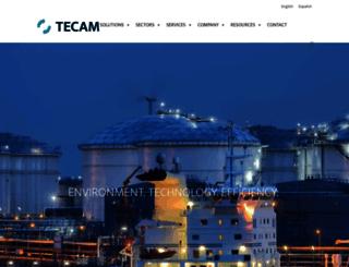 tecamgroup.com screenshot