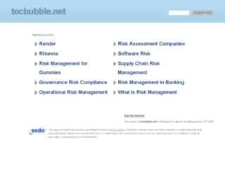 tecbubble.net screenshot