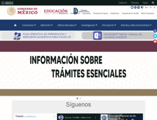 teccan.edu.mx screenshot