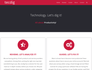 tecdig.com screenshot