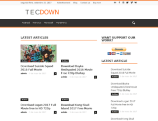 tecdown.com screenshot