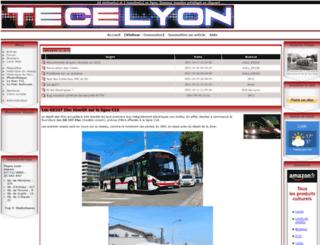 tecelyon.info screenshot