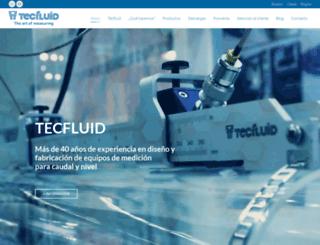 tecfluid.com screenshot
