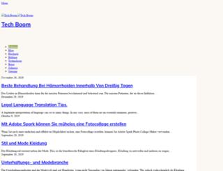 tech-boom.com screenshot